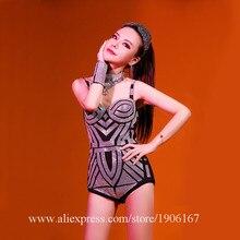 Пикантные женские роскошные Вечеринка платье Костюмы для бальных танцев костюм Костюмы сцены DS Singer Одежда для танцев костюм