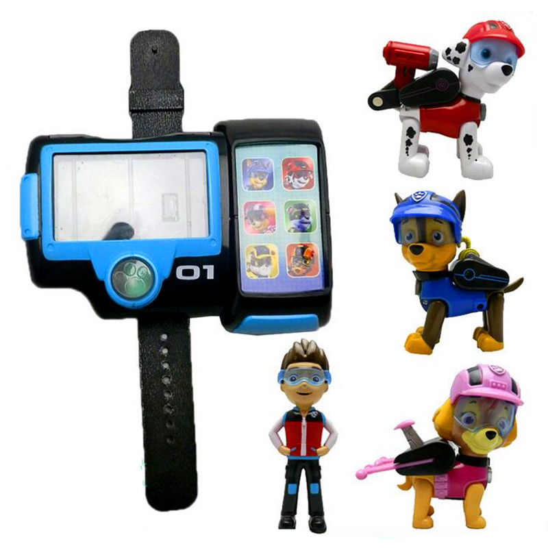 Paw Patrol Dog watch summoner toys Action Figure Patrulla Canina Juguetes kids toysPaw Patrol Dog watch summoner toys Action Figure Patrulla Canina Juguetes kids toys