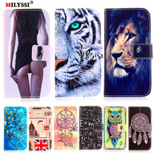 MILYSSI PU Leather Phone Case for LG V30 Flip Cover For LG V30 Case with Card Slots Phone Shell