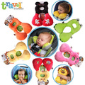 Moda 1-4 Años Bebé Juguetes Cuello Amortiguador Del coche Cojín Del Asiento de Coche Almohada de Viaje En Forma de U
