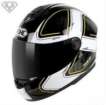 2016 Nueva Eternal YOHE casco Integral de motocicleta invierno ABS cascos de Carreras de motos YH966 14 colorea el tamaño Ml XL XXL