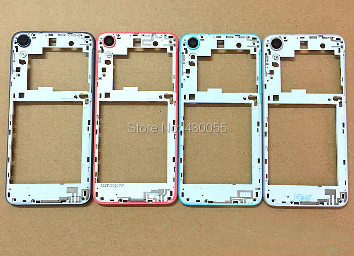 3 colors New Housing middle frame cover with camera glass lens with side buttons For HTC Desire 626 626D 626T 626W (Dual SIM)