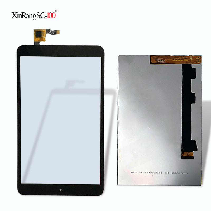 Nueva T080UWX015T 8 pulgadas pantalla táctil digitalizador Touch panel de vidrio para Alcatel One touch POP 8 P320X P320 tablet pc envío libre