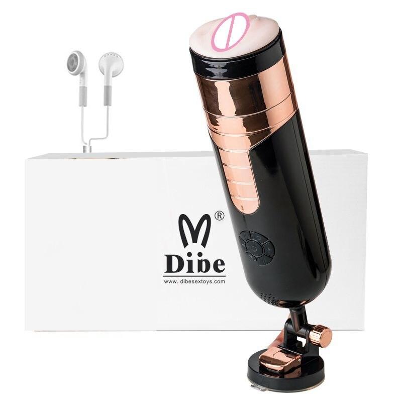 Masturbador elétrico completo automático masculino rotação de voz telescópica interação handsfree sexo máquina real vagina brinquedo do sexo para homem - 2