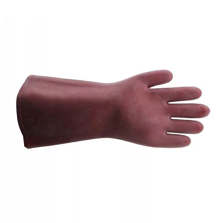 12KV high-voltage insulated gloves electrician gloves waterproof gloves rubber gloves  цены
