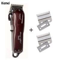 KM 2600 Knife Head Kemei Barber Scissors Line Charging Dual Purpose Electric Clippers