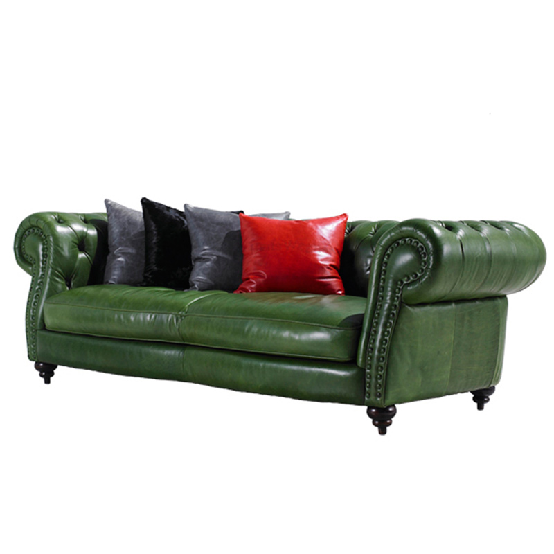 Antique Single Sofa Upholstered Rustic Leather Old Style In Living Room Sofas From Furniture On Aliexpress Alibaba Group