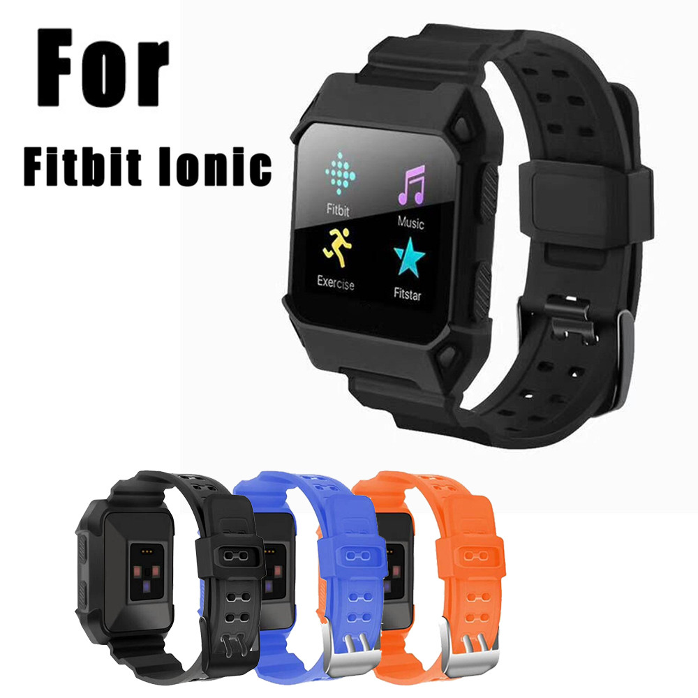 Soft Silicone Replacement Sport Band Strap For Fitbit Ionic Fitness Watch Fitness Bracelet For Smart fitness bracelet smartband fitbit watch