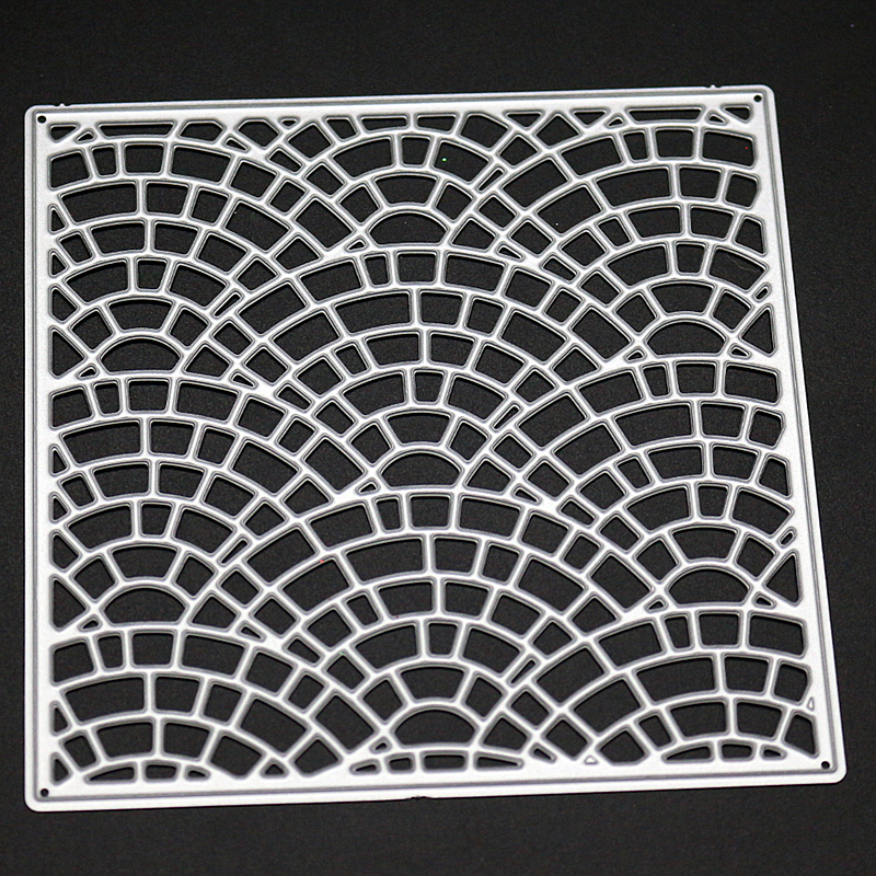 SCD1157 Square CoverMetal Cutting Dies For Scrapbooking Stencils DIY Album Cards Decoration Embossing Folder Craft Die Cuts Tool in Cutting Dies from Home Garden