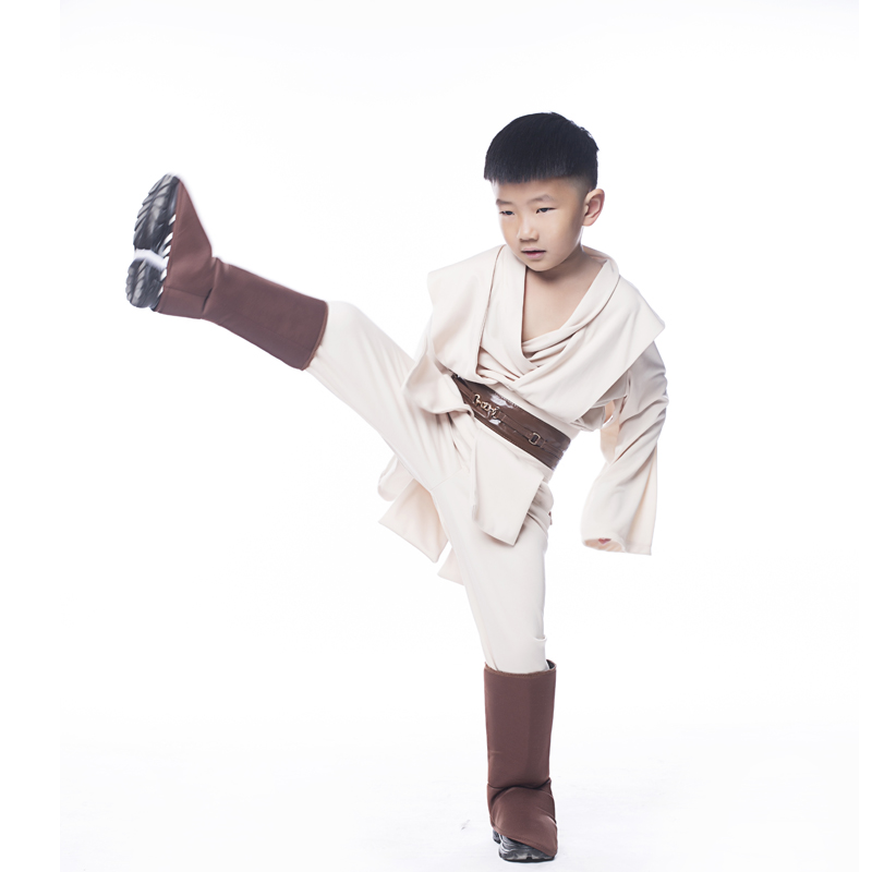 aeProduct.getSubject()  sc 1 st  AliExpress.com & Hot Sale Boys Star Wars Deluxe Jedi Warrior Movie Character Cosplay ...