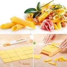 Пластиковые паста макаронные изделия доска спагетти паста Gnocchi Maker Rolling Pin детские пищевые добавки формы штампы кухонный инструмент