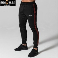 2018 GYMS Pants Casual Sweatpants Solid Fashion High Street Trousers Pants Men Joggers Oversize Brand High