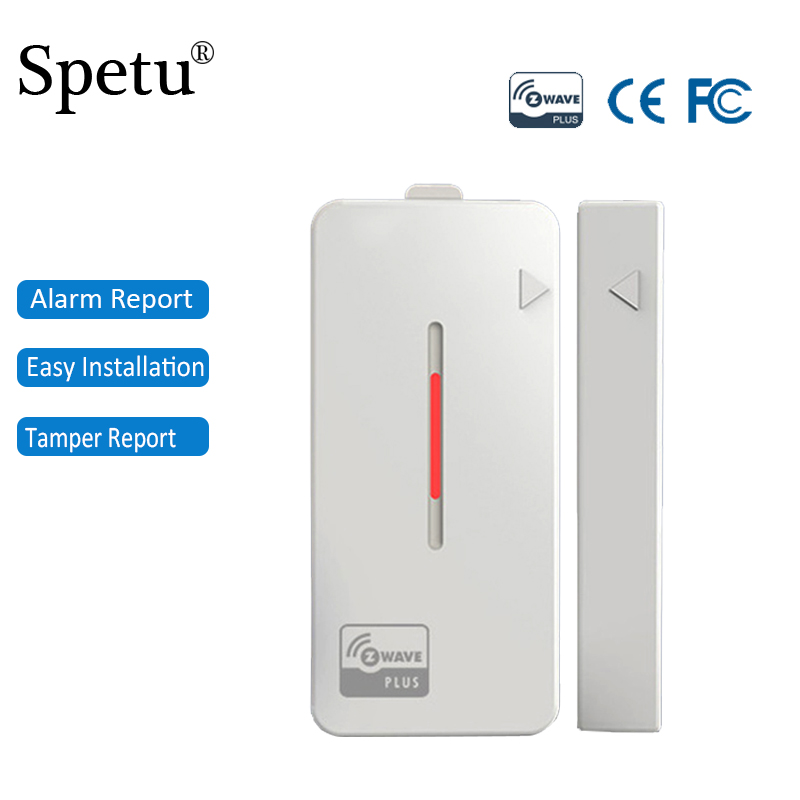 Z-wave Sensor Door Window Sensor Compatible System Z wave Smart Home Automation Ultra-low Power Consumption Long Standby Time