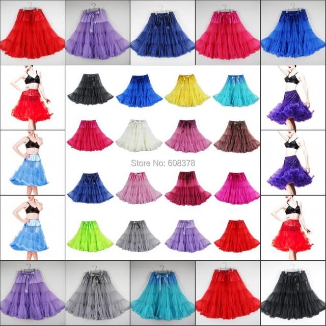 Purple Crinoline rockabilly Organza woman Lady Skirt Vintage Bridal  Petticoat For Wedding Dresses Skirt Rockabilly Tutu 2015 73a44d296203
