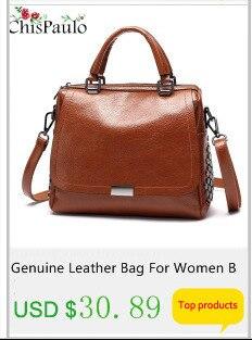 Sacos de couro genuíno para as mulheres