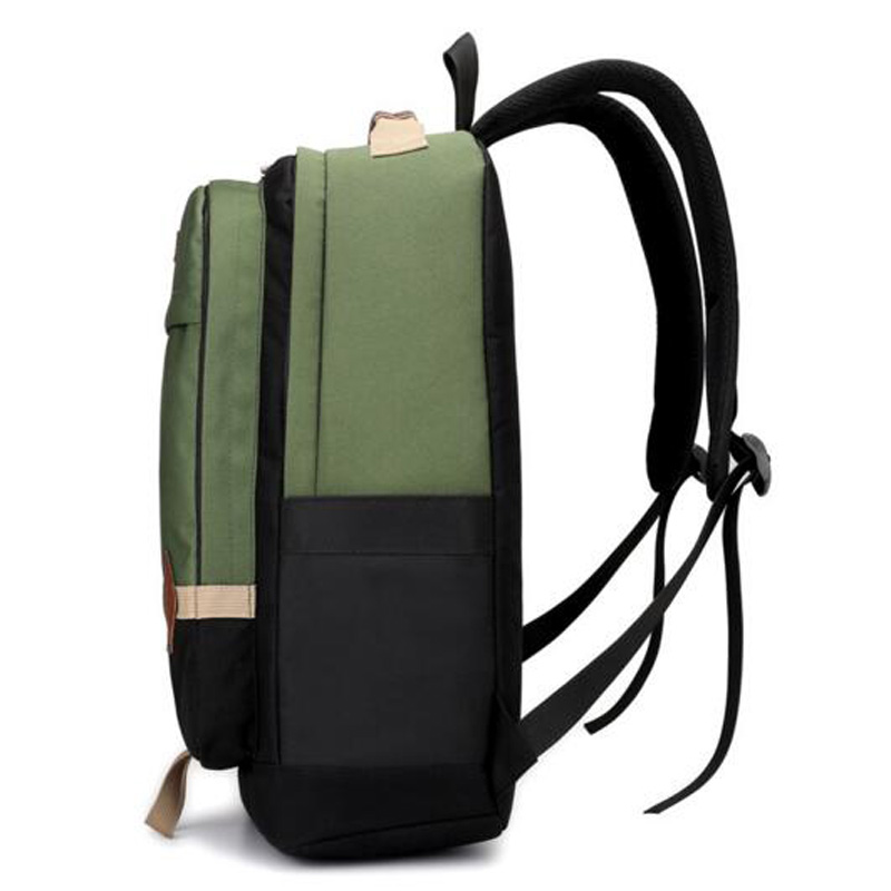 Men and Women Backpack Stitching Backpack for Teenagers Casual Backpack Student bag Computer Backpack Schoolbags mochila 2