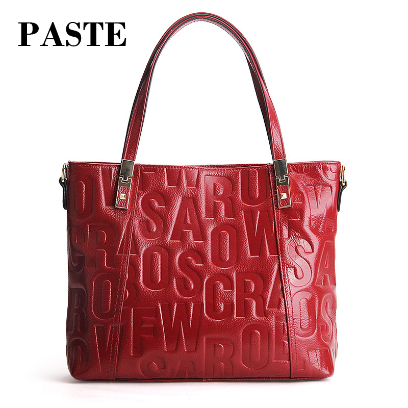 Famous Designer irregular Letters Embossed Women Handbag Real Leather Cowhide female shoulder messenger bag for girl tote стоимость