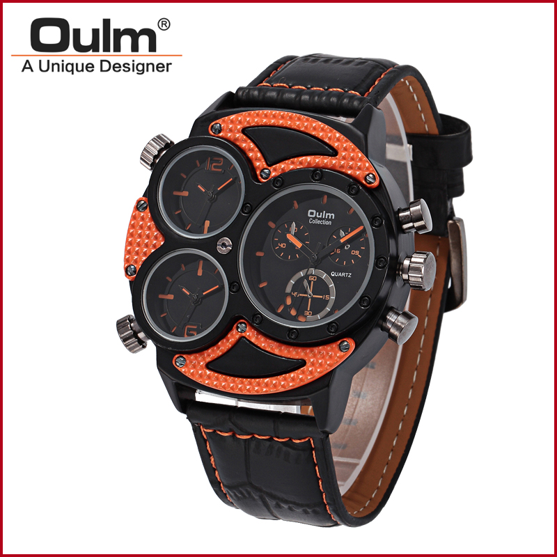 2016 nyt design oulm ur, oulm analog kvarts ur, fabrik pris - Mænds ure - Foto 2