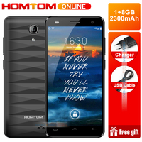 Homtom HT26 4G 4.5 Inch Display Smartphone Android 7.0 1GB RAM 8GB ROM 8MP+5MP Dual Sim Quad Core 1.3Ghz Unlock mobile Phone