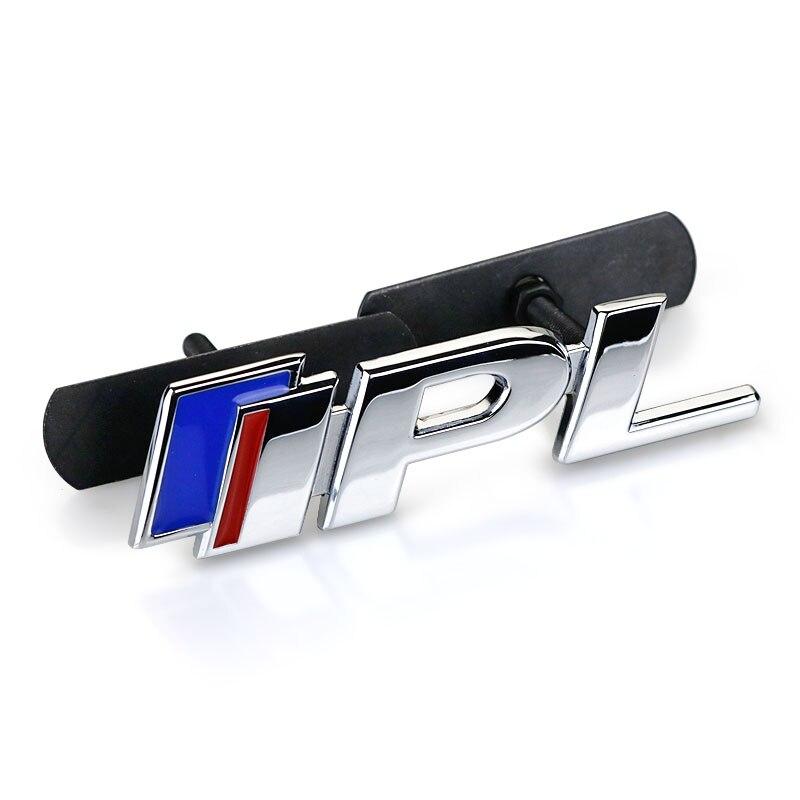 2.5 3.7 Bleu Rouge S IPL Emblème Chrome Métal Repose voiture Style Grille Tronc Fender Décharge Autocollant pour Infiniti Q50 Q50L