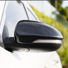 Free Shipping High quality Carbon Fiber Motor Car Automobile Rearview Mirror Cover For 2015 Hyundai Tucson