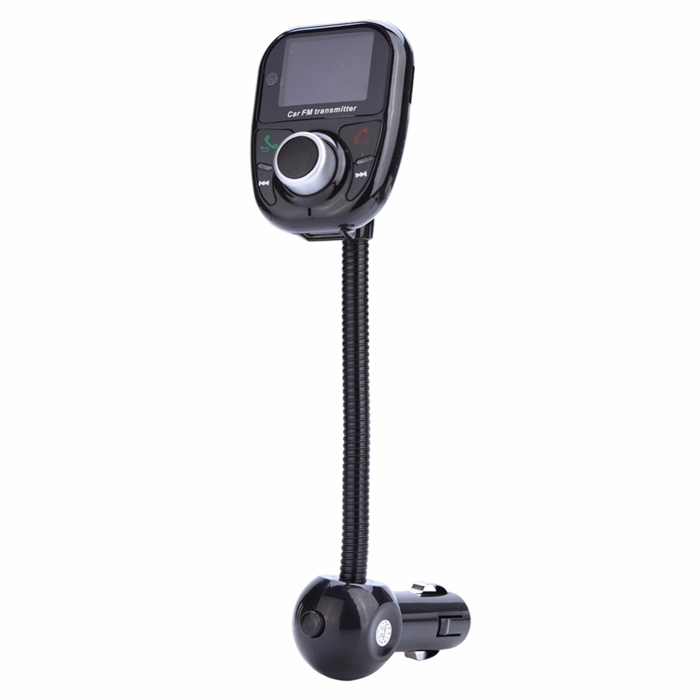 Multi functional Car Wireless Bluetooth Handsfree FM Transmitter MP3 TF AUX Music Player Kit