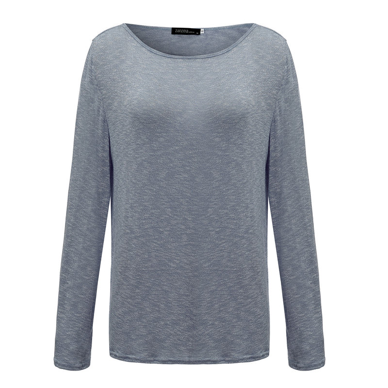 HTB1G5jdPpXXXXc9aXXXq6xXFXXXF - New Spring Casual O Neck Long Sleeve Cotton Women T-Shirts