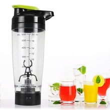 600ml Electric Automatic Vortex Protein Shaker Creative Plastic BPA Free Sports My Water Bottle milk shake shaker bottles cheap OLOEY 600ML 8 40 x 8 40 x 23 50 cm 3 31 x 3 31 x 9 25 inches 10 80 x 8 80 x 24 00 cm 4 25 x 3 46 x 9 45 inches