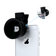 Clip-on Camera Lens for Phone (2 in 1 kit)