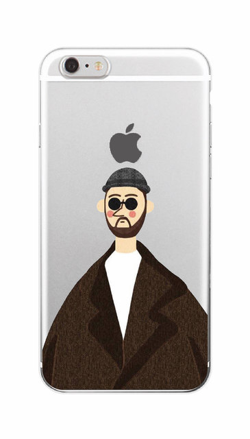Leon Matilda Natalie Portman Movie Poster Soft TPU Phone Case  For iPhone 7plus 7 6 6S 5 5S SE 4 4S 5C