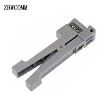 Ideal 45 162 Koaksiyel Kablo Stripper 3.2 MM Fiber Optik Kablo Striptizci FTTH Enine Işın Tüpü Açık ve Sıyırma bıçak