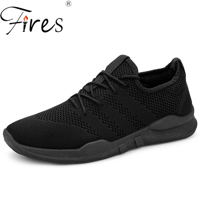 Fires Men Running Shoes Lightweight Summer Outdoor Sports Shoes Male  Sneakers Comfortable Jogging Mesh Tennis Human ee3fea9b4f1a