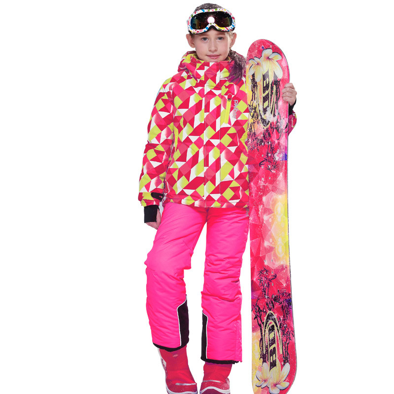 1Girls Ski Suit Waterproof Pants+Jacket Snowboard Set Winter Sports Camping Hiking Clothes Girls Snow Jacket Thermal Clothing1Girls Ski Suit Waterproof Pants+Jacket Snowboard Set Winter Sports Camping Hiking Clothes Girls Snow Jacket Thermal Clothing