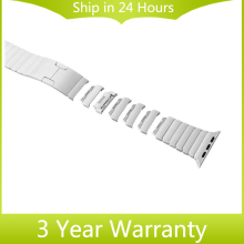 316L Stainless Steel Watchband 1 1 as Original for iWatch Apple Watch 38mm 42mm Hand Detach