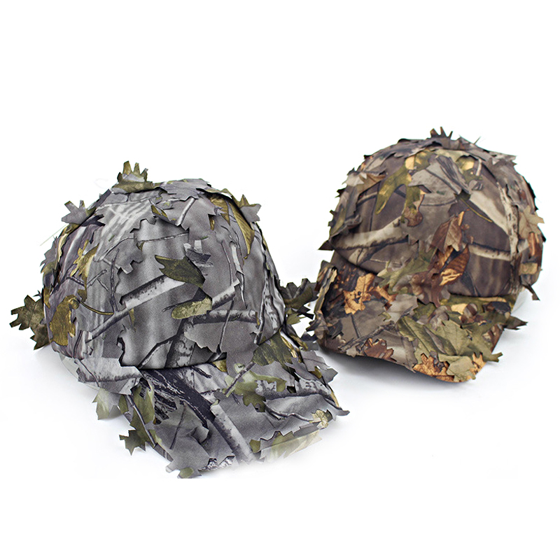 Camouflage Jungle Fisherman's Hat Baseball Cap Camo Outdoor Concealment Bucket Hats Adjustable Snapback Bone Cap шляпа huf duck jungle camo olive