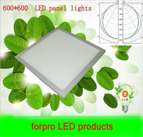 Wholesale5pcs 42W Square LED Panel Light 600*600 100-240V Warm White Cool White Parlour kitchen bath room corridor celling lamp