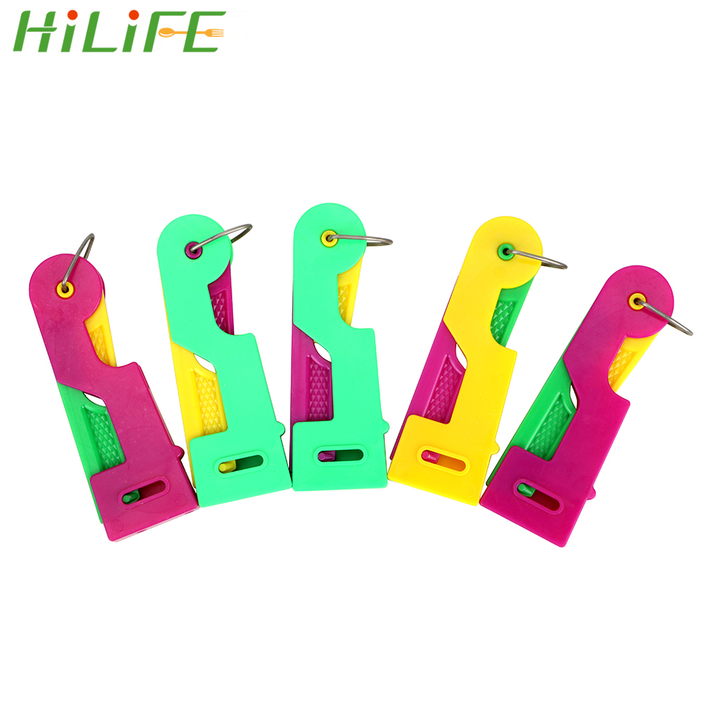 HILIFE Elderly Guide Needle Easy Device Use Tool Sewing Needlework Accessories Sewing Tool Automatic Needle Threader 5 Pcs/set