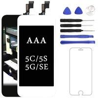 Melhor jogo 5S highscreen Excelente Produto Para iPhone 5C 5g SE Nenhuma Poeira Pantalla LCD Com Tela de Toque Digitador Livre grátis