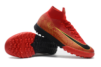 2019 ZUSA SuperflyX VI Elite 360 TF Soccer Shoes for Turf Ground Mens Cheap Football Shoes sales