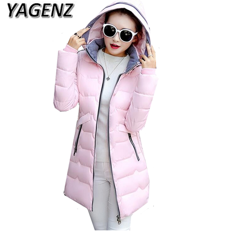 2018 Large size Coat Women Winter Jackets New High quality Thick Hooded Warm Overcoat Parkas Down