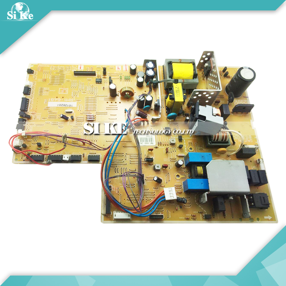 LaserJet  Engine Control Power Board For HP P3015 P3015D P3015DN RM1-6481 RM1-6480 3015 3015DN Voltage Power Supply Board мфу hp laserjet 3015