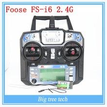 Foose FS-i6 2.4 г данных backhaul нью-шесть 3,5-канальный модель дистанционного управления модели самолета совместимость мультиаксиальные Rc запчасти