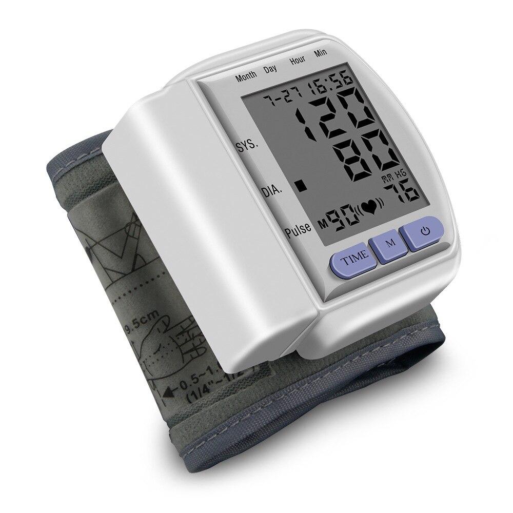 High precision pulse blood pressure meter automatic wrist electronic sphygmomanometer