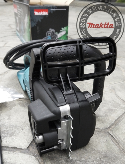 """Makita UC4030A electric chain saw 1800W Speed (per minute) 800m (2600mft) Chain gear 3/8 Automatic function prevents oil spill """" 4"""