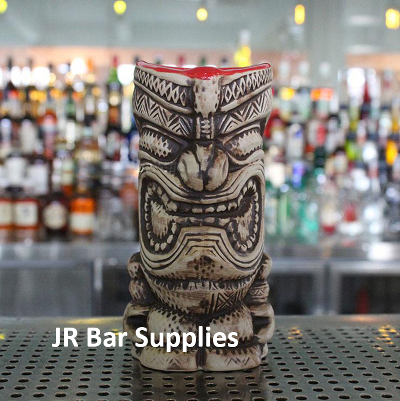 Free Shipping Hawaii Tiki Mugs Cocktail Cup Beer Beverage Mug Wine Mug Ceramic Ku Ku Kauioo