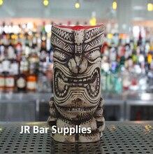 Kostenloser Versand Hawaii Tiki Bechern Cocktail Cup Bier Becher Wein Becher Keramik Ku. Ku. Kauioo Becher