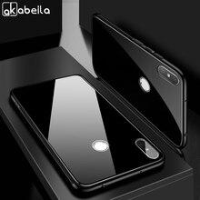 AKABEILA Tempered Glass Case For Xiaomi Redmi Note 6 Pro Cases Anti-knock Cover redmi note Covers Fundas Coque