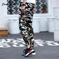 Jamickiki Brand Mens  Compression Military Tactical Pants Camouflage Printing Skinny Cotton Pantalons Hombre  Clothing
