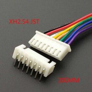 Image 3 - 10 個 XH 2.54 JST コネケーブル 20 センチメートルロング 26AWG 2/3/4/5 /6/7/8/9/10/11/12P + XH 2.54 接続プラグ曲げでの針
