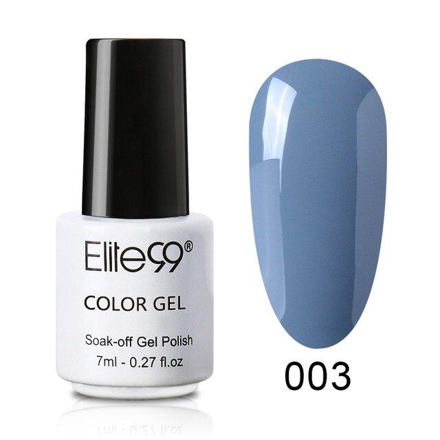 Elite99 7 ml Grau Serie 1 stück UV Gel Nagellack Langlebige Nail art Schönheit Malerei Soak Off Gel lacke Gel Lack
